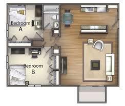 2 bedroom floor plan 1 2 3 bedroom off cus student housing in kent oh