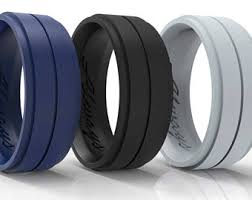 rubber wedding bands rubber wedding band etsy