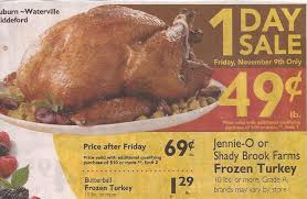 shady brook farm coupon to use on your 49 lb turkey at shaw s