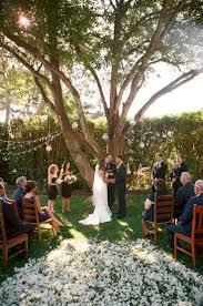 Backyard Decoration Ideas by Best 25 Small Backyard Weddings Ideas On Pinterest Small