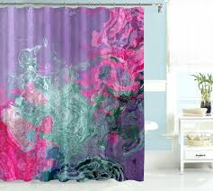Pink Green Shower Curtain Brown Pink Green Shower Curtain Shower Curtains Design