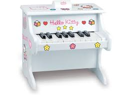 Coffre A Jouet Hello Kitty by Vilac Piano Hello Kitty Et Ses Stickers