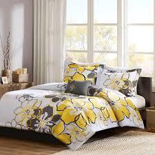 Grey Twin Bedding Mi Zone Allison Duvet Cover Set Ebay