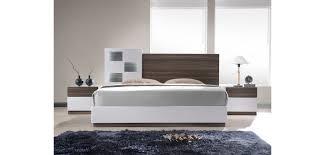 j u0026m sanremo a bedroom set in two tone finish