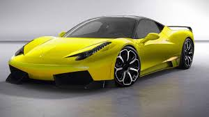 ferrari yellow 458 yellow ferrari
