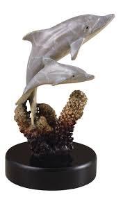 Jellyfish Home Decor Bronze Brass Sealife Dolphins Sculptures Crystal Fox Gallery
