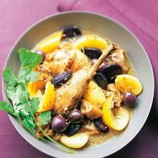 poulet aux citrons confits cuisine recette tajine de poulet aux citrons confits et gingembre
