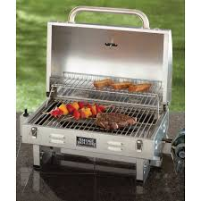 Backyard Grill Bbq by Portable Gas Grill Stainless Steel Tailgate Camping Picnic