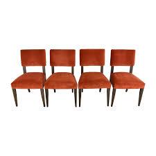 58 off room u0026 board room u0026 board anssel rust dining room chairs