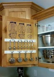 How To Hang Kitchen Cabinet Doors Best 25 Measuring Cup Storage Ideas On Pinterest Kitchen