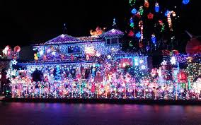 pictures of homes decorated for christmas the best christmas light displays in every state travel leisure