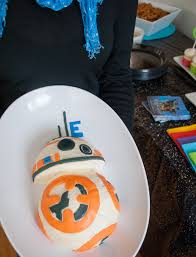 make birthday cake how to make an easy wars bb 8 birthday cake for a wars