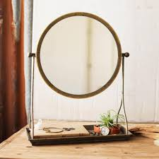 frame table mirror with stand cece u0026 me home and gifts