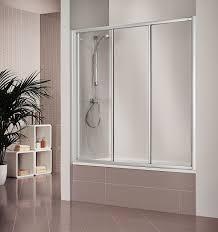 bathroom enchanting frameless hinged bathtub shower screen 23
