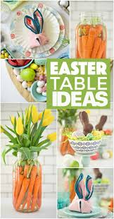 Easter Table Decor Simple Easter Table Ideas Fork And Beans