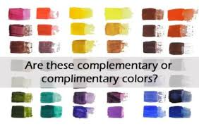 complementary color is it complimentary or complementary colors why celebrating color