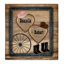 rustic wedding photo albums western wedding custom binders zazzle