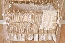 Olli And Lime Crib Bedding Cottage Dreams Ivory Minky Swirl Crib Bedding At Dadababyboutique