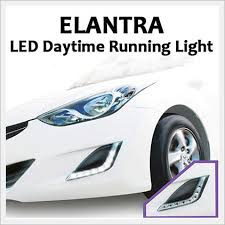 hyundai elantra daytime running lights camily hi led daytime running lights for hyundai elantra id