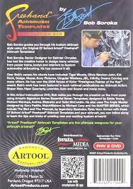 amazon com artool freehand airbrush templates true fire dvd