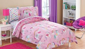 Unicorn Bed Set Bright And Colorful Unicorn Bedding Sets For S Bedroom Homeliva