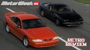 1994 mustang gt vs camaro z 28 retro review youtube