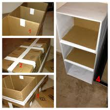 diy 3 tier shelf from cardboard boxes uganda organize