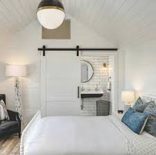 Bedroom Barn Door White Shanty Barn Doors
