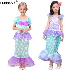 Mermaid Halloween Costume Toddler Quality Wholesale Ariel Dresses China Ariel Dresses