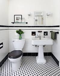 black and white floor tiles bathroom room design ideas