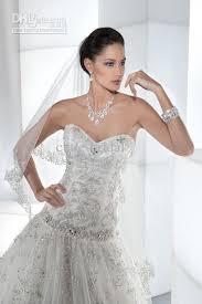 jeweled wedding dresses discount jeweled bodice corset back 2013 luxury wedding dress with