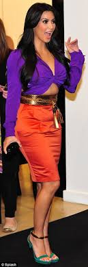 colors that match with purple fashion s coolest clash how orange and purple became the colours