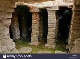 fishbourne roman palace floor plan roman hypocaust heating system remains at fishbourne roman palace