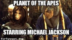 Planet Of The Apes Meme - planet of the apes michael jackson meme funny memes jokes for fun
