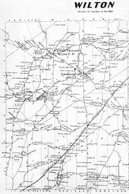 Map Of Ct Towns Town Of Wilton Saratoga Co Atlas