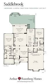 Arthur Rutenberg Homes Floor Plans Saddlebrook 1160f Classic Plan Collection