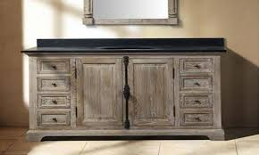 Black Distressed Bathroom Vanity Bathrooms Design Reclaimed Weathered Wood Bathroom Vanity