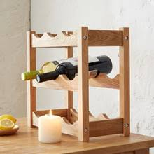 popular oak wine rack buy cheap oak wine rack lots from china oak