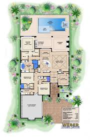 Group Home Floor Plans by Spanish Style Floor Plan 3913 S F Single Level 3x3 This Plan Has