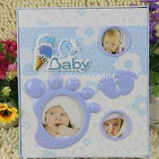 high capacity photo album high quality baby diy photo album lovely blue children s picture