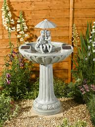 solar garden fountains india home outdoor decoration