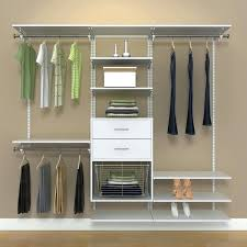 closet kits with drawers rubbermaid kit menards custom lowes