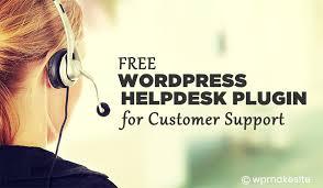 Customer Help Desk Top 6 Free Wordpress Helpdesk Plugin For Customer Support