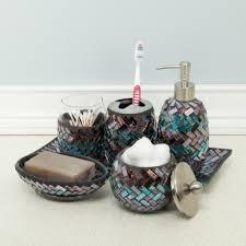 Purple Bathroom Ideas Glass Mosaic Vanity Tray For The Bathroom Home Decor Modern And