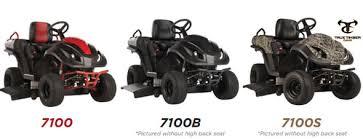 raven mpv7100 mower ridable generator