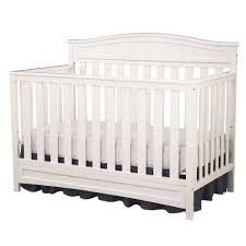 Crib White Convertible Delta Children Emery 4 In 1 White Convertible Crib