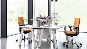 steelcase bureau bureau pour open space en métal en stratifié en mélaminé