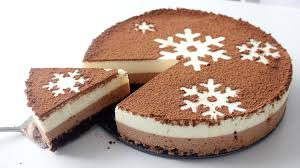 How To Decorate Chocolate Cake At Home Chocolate Snowflake Mousse Cake Recipe Tastemade