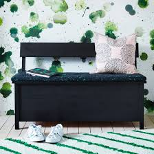 Green Striped Wallpaper Living Room Living Room Black Modern Seating Floral Pattern Wallpaper
