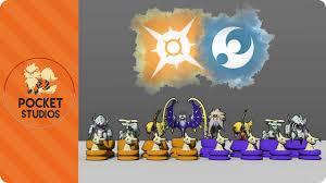 pokemon sun and moon chess set 3d pokemodelling youtube